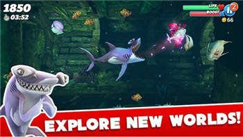 饥饿鲨鱼世界破解最新安卓版最新版