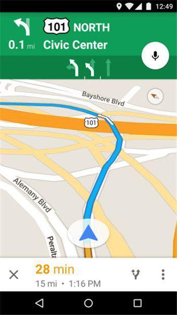 谷歌地图2021最新安卓版